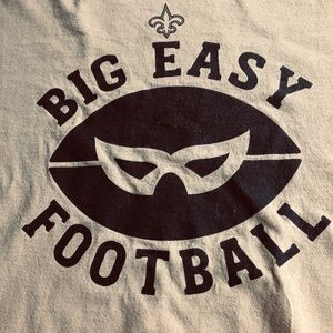 Men's Gold Long Sleeve Saints T-Shirt 2XL